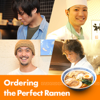 Ordering the Perfect Ramen: Vegan Ramen and Tsukemen