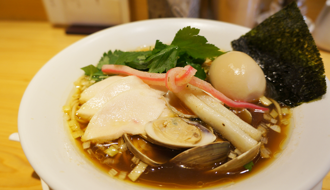 Keeping it classy with Michelin Guide ramen at GINZA NOODLES Mugi to Olive