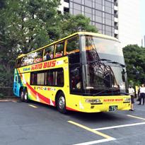 外国人向けはとバスに乗ったよ!!