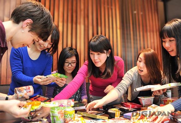 Japanese instant food taste test