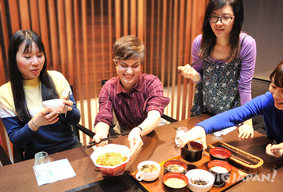 Just add hot water Japanese instant foods