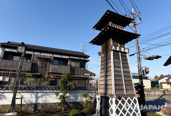 大多喜の街のシンボル 櫓