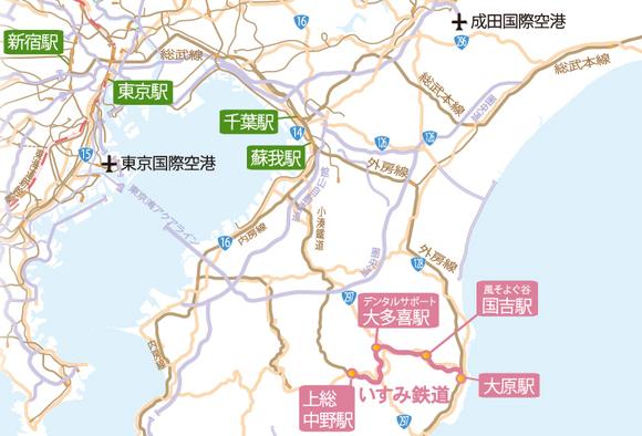 旅のルートMAP