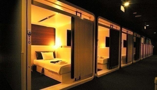 일본 캡슐 호텔 퍼스트캐빈 대콘텐츠