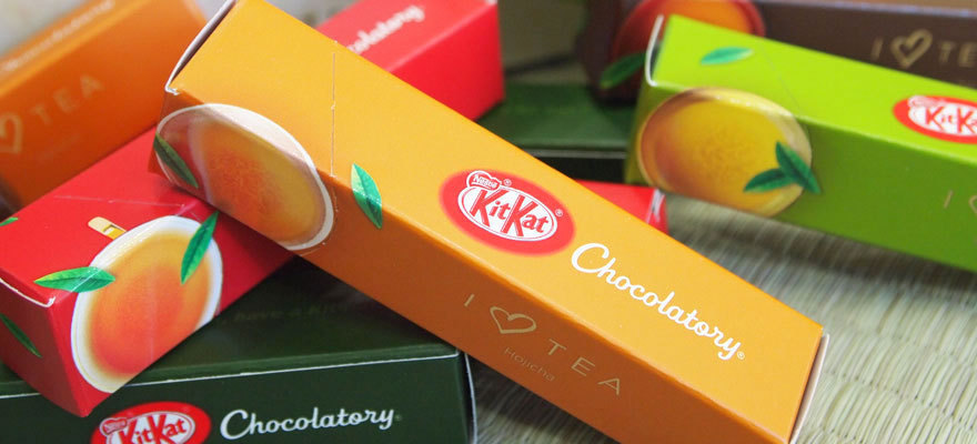 I Love Tea KIT KATs