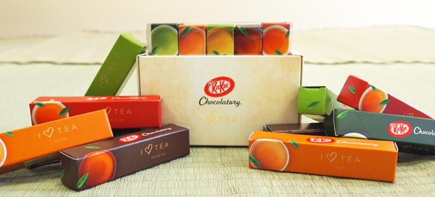 日本KIT KAT巧克力!I ♡ TEA
