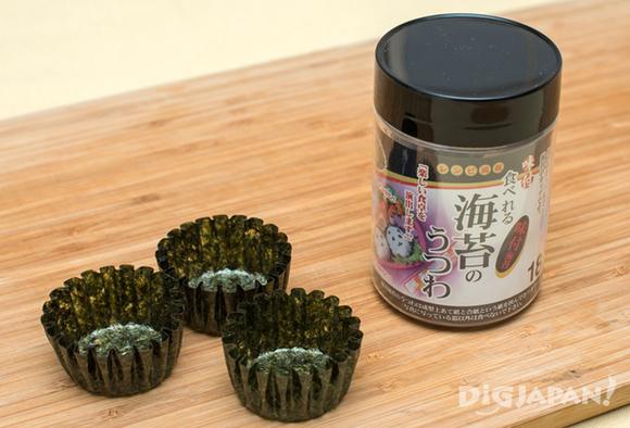 Nori seaweed cups