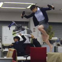 เมื่อสาวออฟฟิสญี่ปุ่นถูกสั่งให้ต้องอยู่ดึก!!??!!