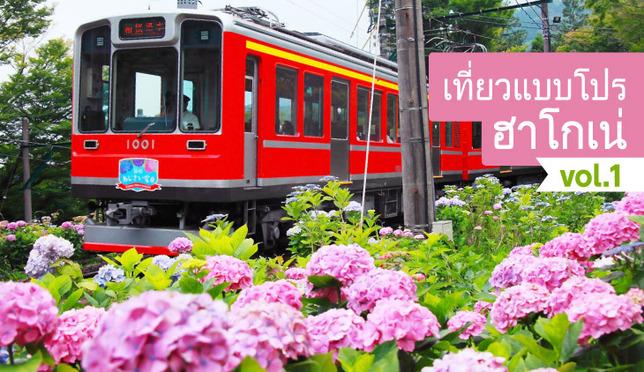 เที่ยวแบบโปร ฮาโกเน่ vol.1แช่ออนเซ็น นั่งรถไฟ ชมดอกอะจิไซ