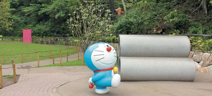 哆啦A夢我來了!藤子・F・不二雄博物館玩個過癮!