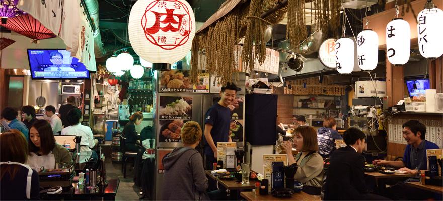 絕佳肉品餐廳集結的「澀谷肉橫丁」