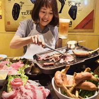 """ปิ้งย่างญี่ปุ่นต้องที่นี่ """"ชิบุย่า นิคุโยโกโจ"""" แหล่งรวม 25 ร้านเนื้อย่างในโตเกียว"""
