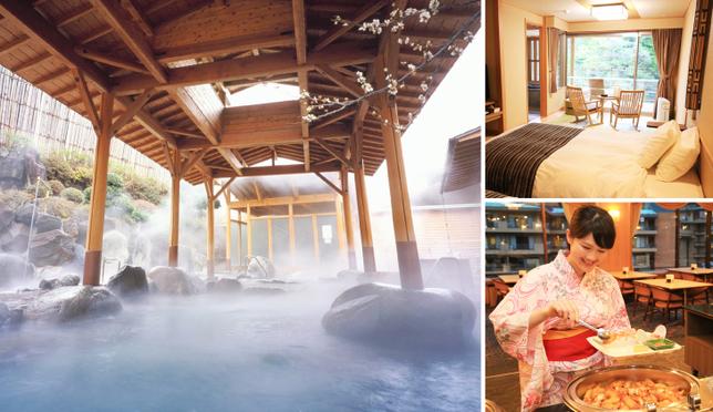 箱根湯本温泉 ホテルおかだで癒しの休日
