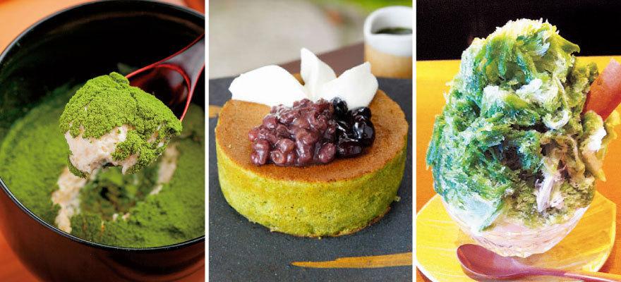 京都で食べたい抹茶スイーツ