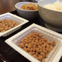 All-you-can-eat natto at Sendai-ya!