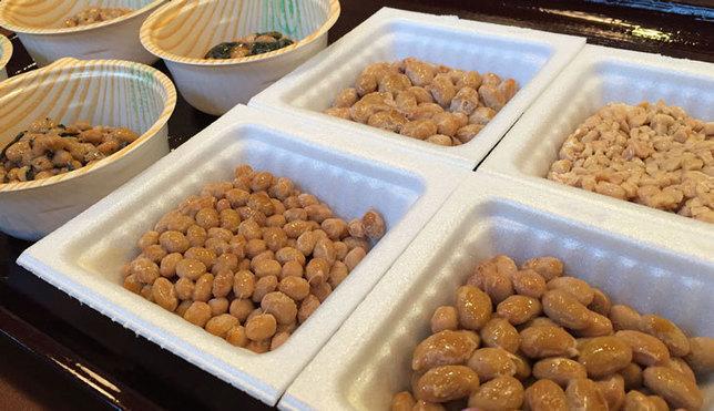 納豆工房せんだい屋の納豆食べ放題定食