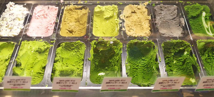 ไอศครีมชาเขียวที่เข้มที่สุดในโลก! ที่ Asakusa
