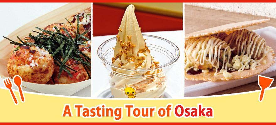 Tasting Tour of Osaka