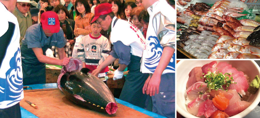 แบบนี้ก็มีด้วย!? ชิมปลาสดๆฟรีๆที่ฟุกุโอกะ