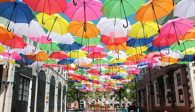 ฝนตกแดดออกก็สนุกได้!Happy Rain ที่ Huis Ten Bosch