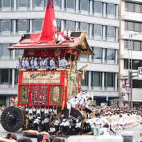 """""""กิองมัตสึริ"""" งานเทศกาลใหญ่ประจำเมืองเกียวโต"""