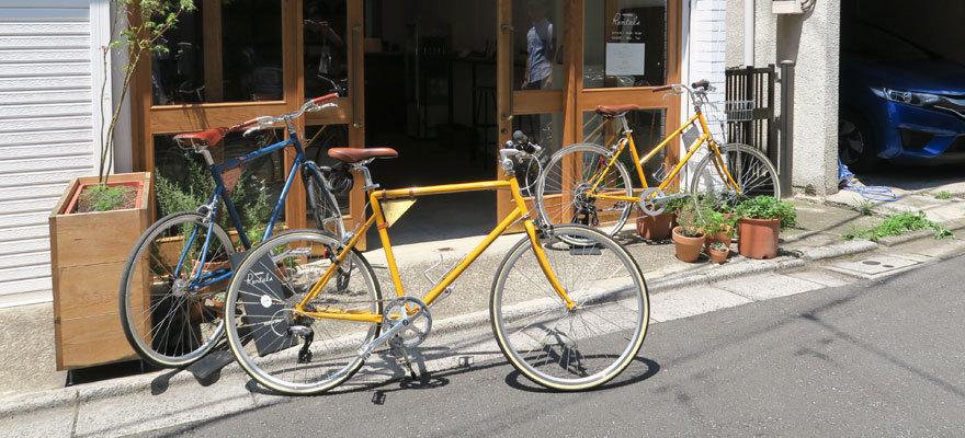 こだわりの自転車で東京下町めぐり「tokyobike」