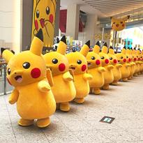 Pikachu Outbreak! in Yokohama 2016