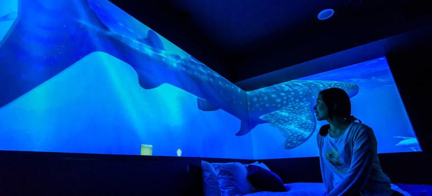 沖縄の海を体感できる ホテルグレイスリー那覇「美ら海ルーム」