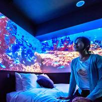 Inside the Chura-Umi Room at Hotel Gracery Naha