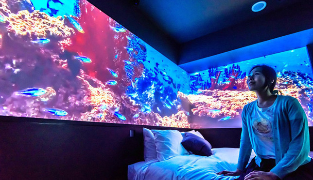 오키나와의 바다를 느낄 수있는 호텔 그레이스리 나하