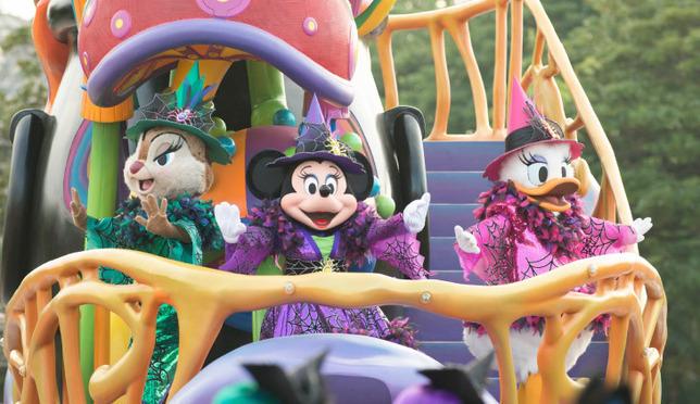 截至十月末,迪士尼万圣节2016热闹进行中