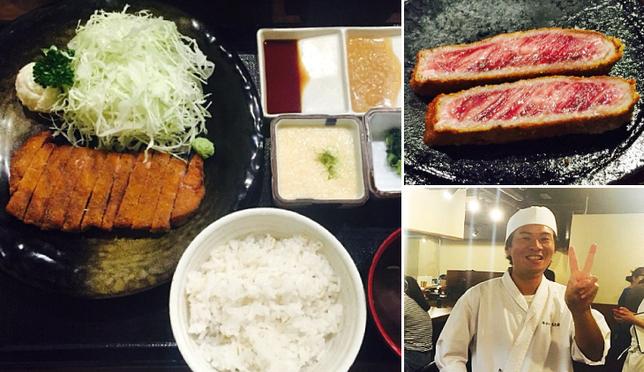 오사카 여행의 필수코스! 먹방의 중심 모토무라 규카츠!