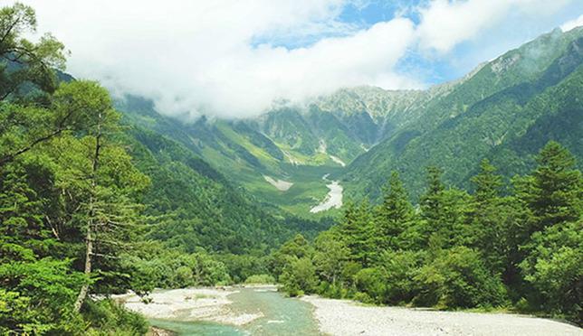 สัมผัสเสน่ห์ธรรมชาติเทือกเขาแอลป์ญี่ปุ่นที่