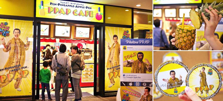 PIKO太郎超搞笑「PPAP咖啡廳」!東京晴空塔期間限定登場中!
