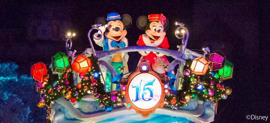精彩圣诞活动就在东京迪士尼度假区