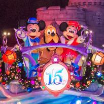 도쿄디즈니리조트의 즐거운 디즈니 크리스마스 2016