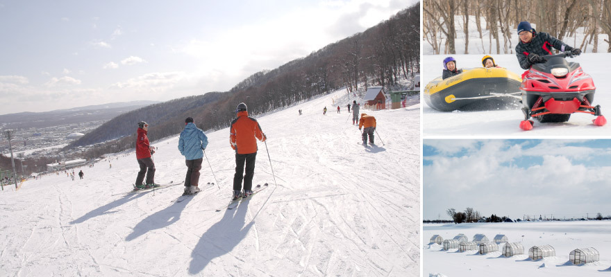 삿포로 주변에서 즐길 수있는 겨울 놀이 TOP 8