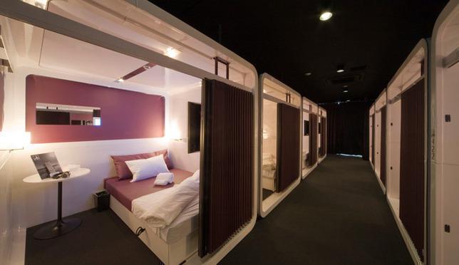 저렴하지만 쾌적한 오사카 캡슐호텔 3선