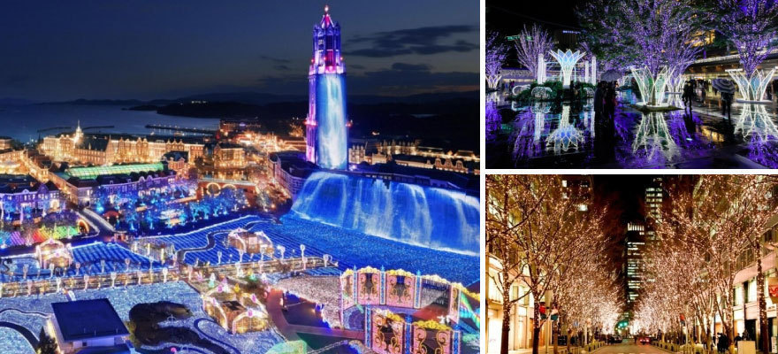 Winter Wonderland: 10 Illumination Events in Japan