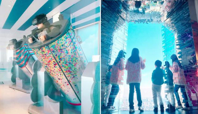 池袋陽光城親子同遊(玩樂篇)-SKY CIRCUS 4D體驗、水族館餵食秀、親子童心大發!
