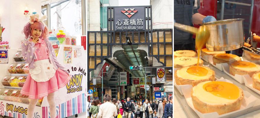 大阪心齋橋筋商店街!名店逛不完的超人氣購物景點