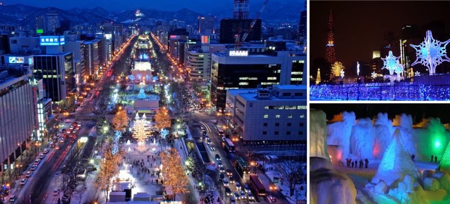 这才是冬天该有的模样!北海道最不容错过的八大彩灯展