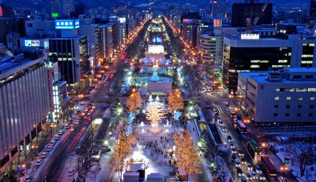 홋카이도 불빛축제 일루미네이션 BEST8