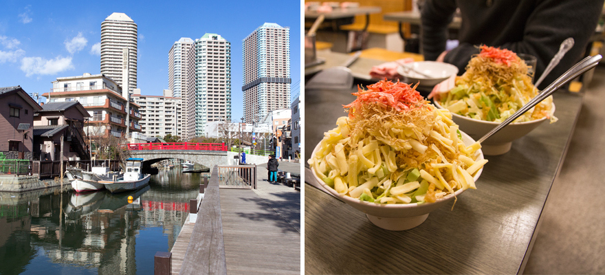 A Day in Tsukishima: Explore the Old, the New, and the Monja