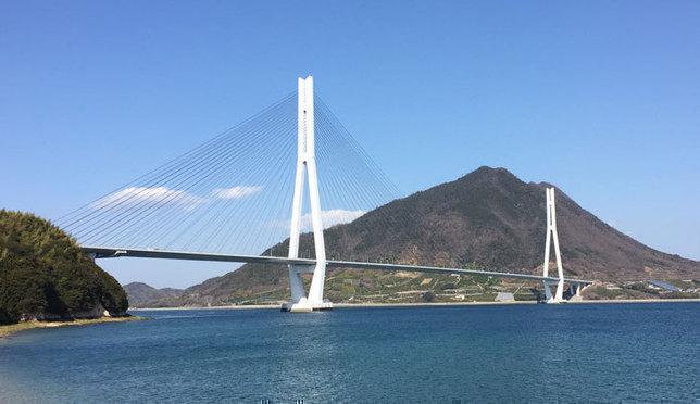 跨海骑行!用自行车征服濑户内海岛波海道