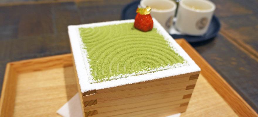 Instagram网红美食又多一道! 把日本庭园枯山水当做甜点吃进肚