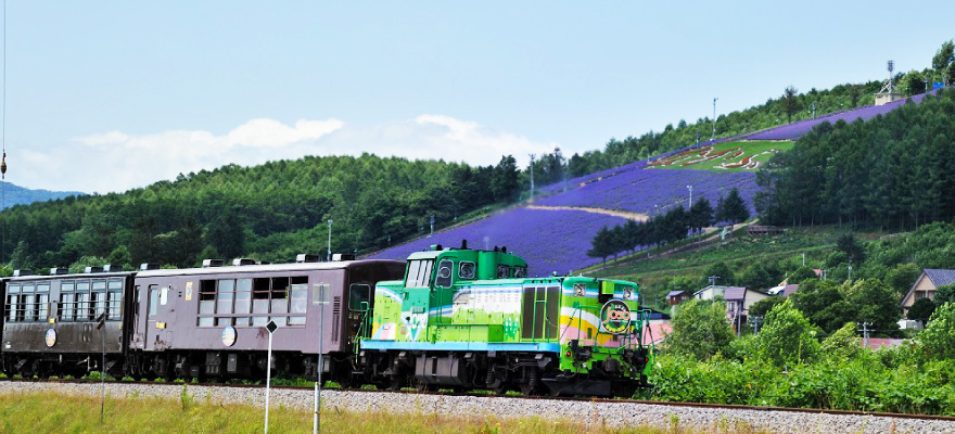 ตัวอย่างเส้นทางชมทิวทัศน์ด้วยรถไฟท่องเที่ยว