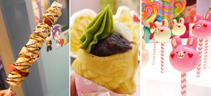 大阪人氣甜點吃不停!大阪美國村美味又可愛甜點大集合!