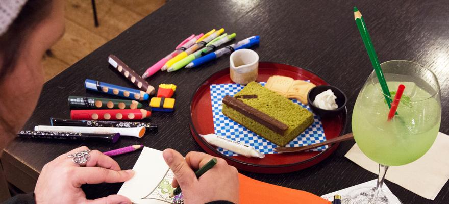 文具控東京旅遊必訪!免費文具任你玩的文具咖啡廳