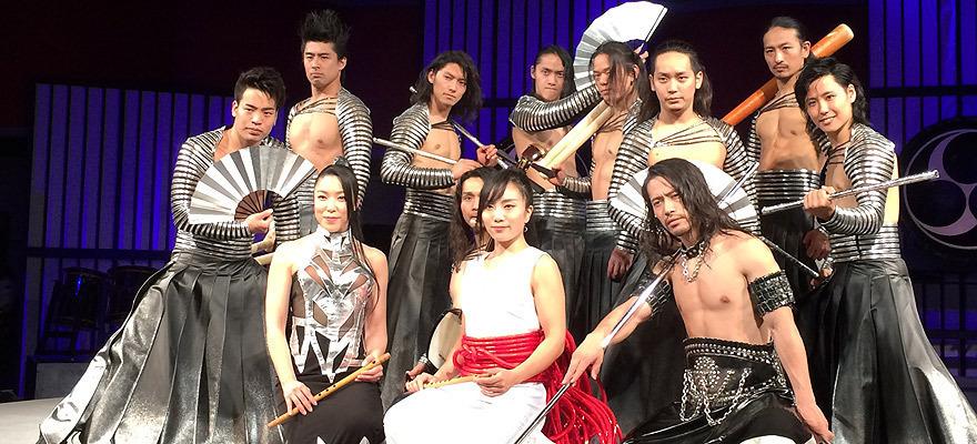 2017年秋、太鼓集団・TAOの和太鼓エンターテインメント公演開始